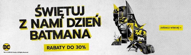 Egmont: Dzień Batmana do 30% rabatu na komiksy i książki Batmana