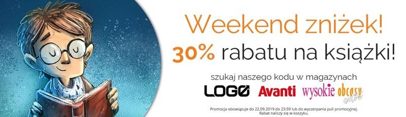 Egmont: Weekend Zniżek 30% rabatu na książki