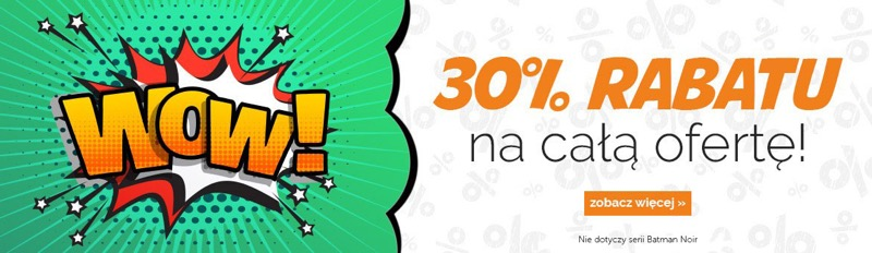 Egmont: 30% rabatu na książki, komiksy i gry planszowe