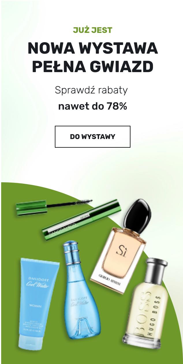Elnino Parfum: do 78% rabatu na wybrane kosmetyki i perfumy