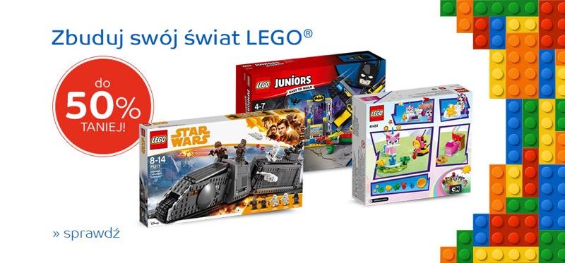 EMag: do 50% zniżki na klocki Lego