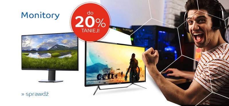 EMag: do 20% zniżki na monitory LCD i LED