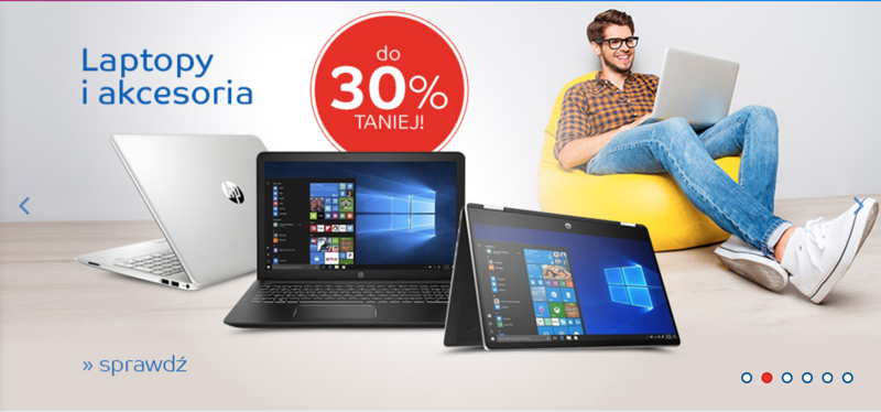 EMag: do 30% rabatu na laptopy i akcesoria