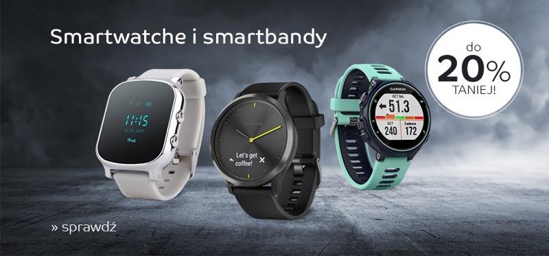 EMag: do 20% zniżki na smartwatche i smartbandy