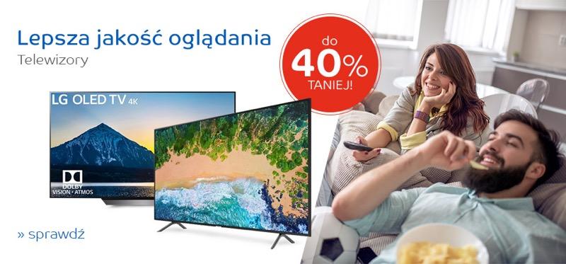 EMag: do 40% zniżki na telewizory