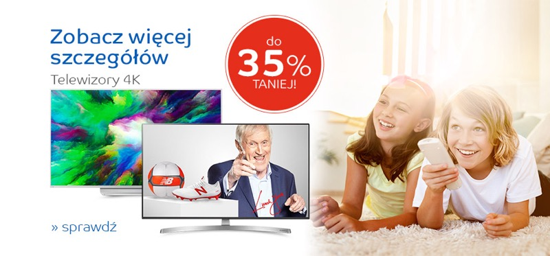 EMag: do 35% zniżki na telewizory Ultra HD / 4K