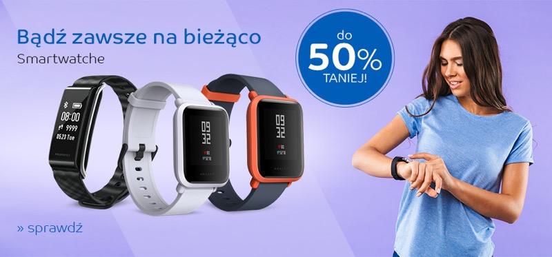 EMag: do 50% rabatu na smartwatche