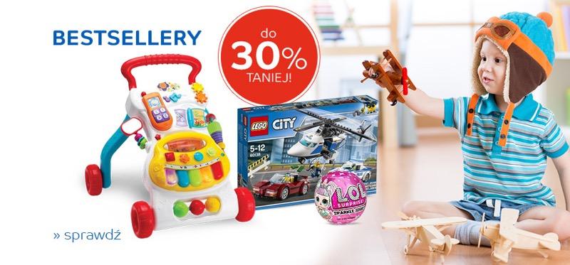 EMag: do 30% zniżki na bestsellery zabawek