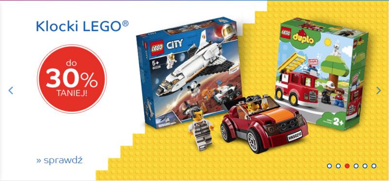 EMag: do 30% rabatu na klocki Lego