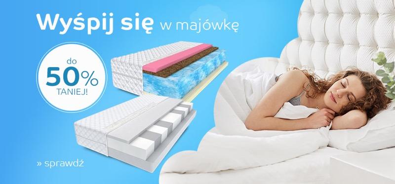 EMag: do 50% zniżki na materace do spania