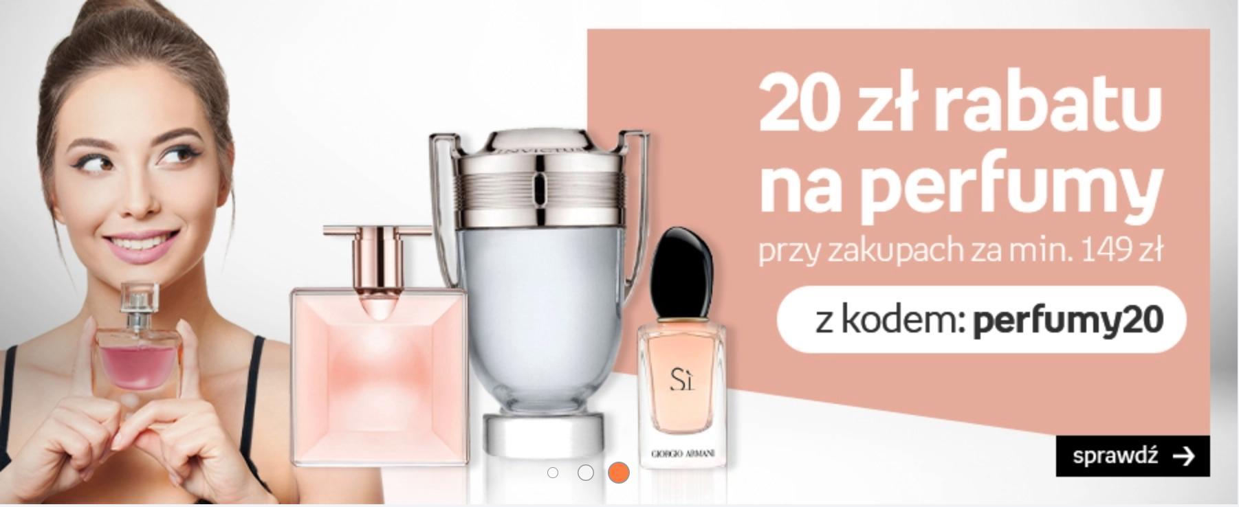 Empik: 20 zł rabatu na perfumy przy zakupach za min. 149 zł