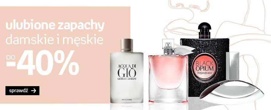 Empik: do 40% rabatu na zapachy damskie oraz męskie