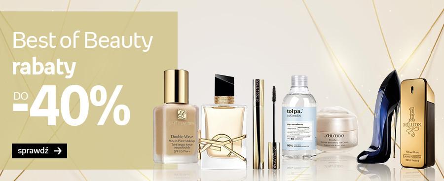 Empik: do 40% zniżki na kosmetyki i perfumy - Best of Beauty
