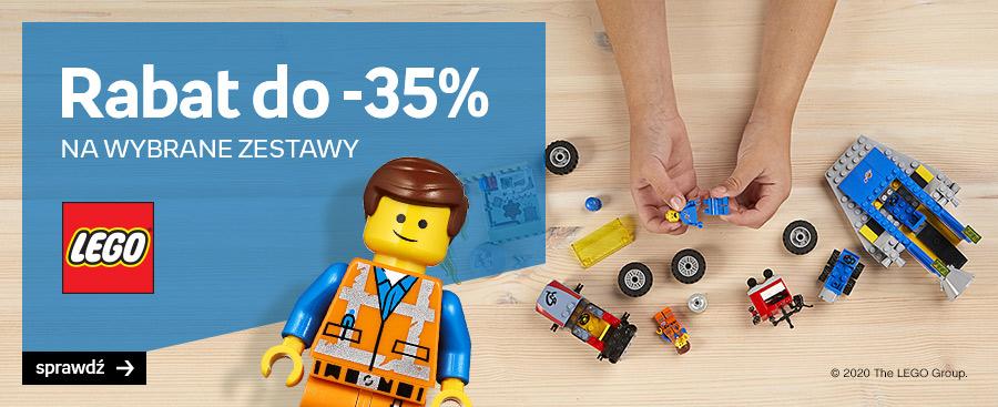 Empik: do 35% zniżki na wybrane zestawy klocków Lego                         title=