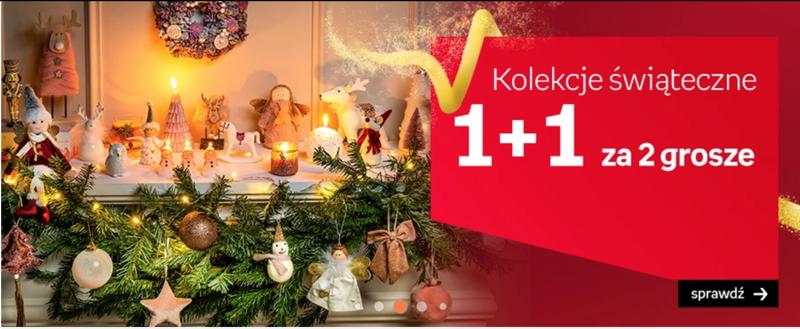 Empik: przy zakupie 2 produktów z kolekcji świątecznej, drugi produkt za 2 grosze