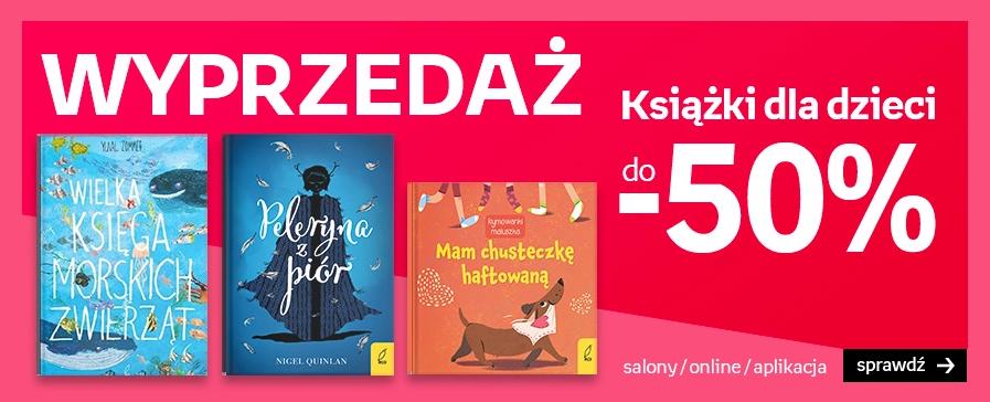 Empik: wyprzedaż do 50% rabatu na książki dla dzieci