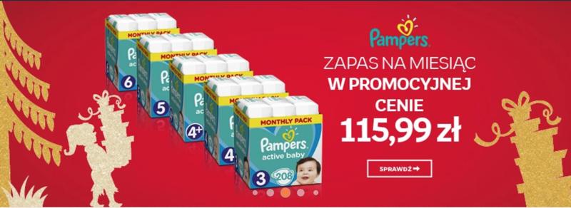 Empik Zestaw Pieluch Pampers W Cenie 115 99 Zl
