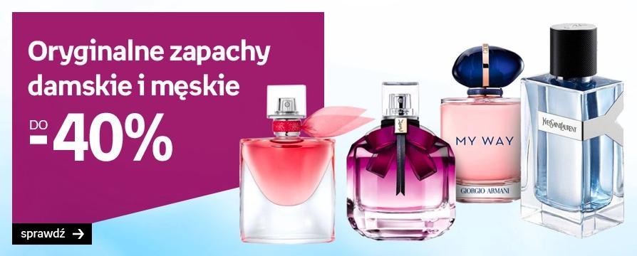 Empik: promocja do 40% zniżki na perfumy damskie oraz męskie