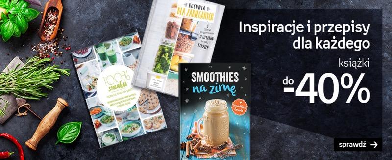 Empik: do 40% zniżki na książki kulinarne