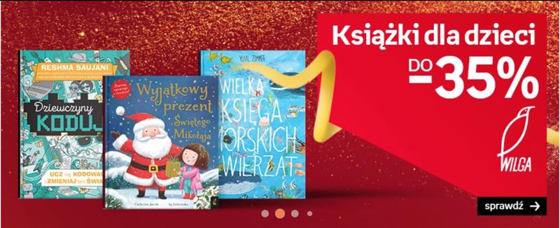 Empik: do 35% rabatu na książki dla dzieci
