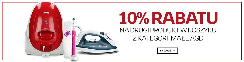 Empik: 10% zniżki na drugi produkt z kategorii małe AGD