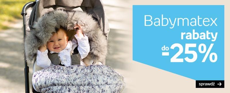 Empik: do 25% zniżki na akcesoria dziecięce Babymatex