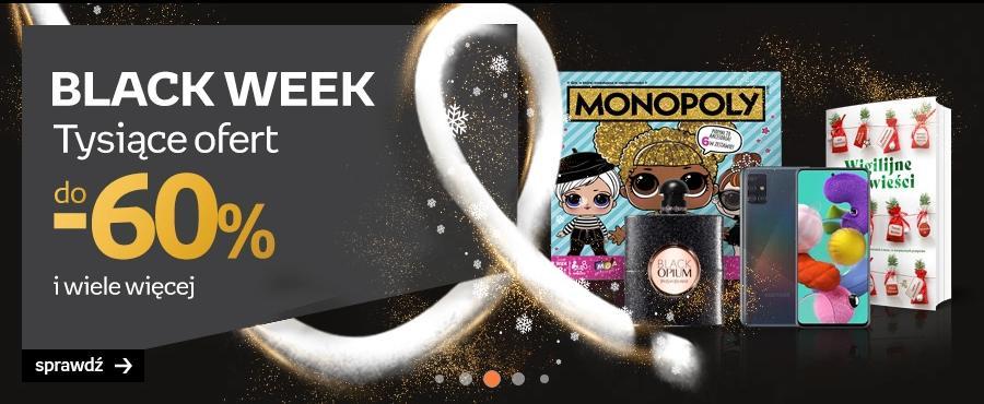 Empik: Black Week do 60% rabatu na książki, gry, kosmetyki, perfumy, elektronikę, akcesoria sportowe i sprzęt AGD