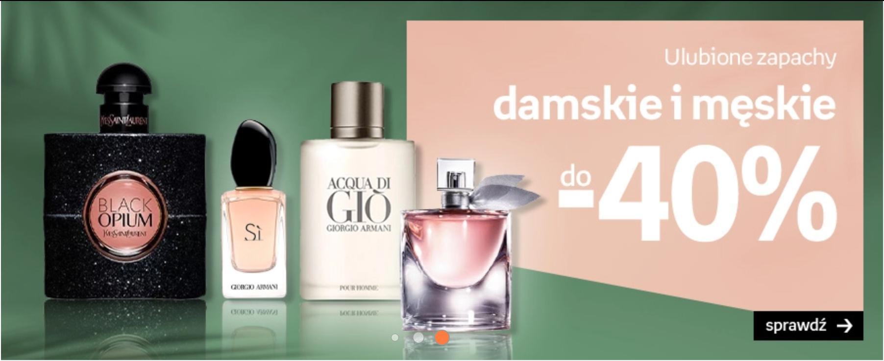 Empik: do 40% zniżki na ulubione zapachy damskie i męskie