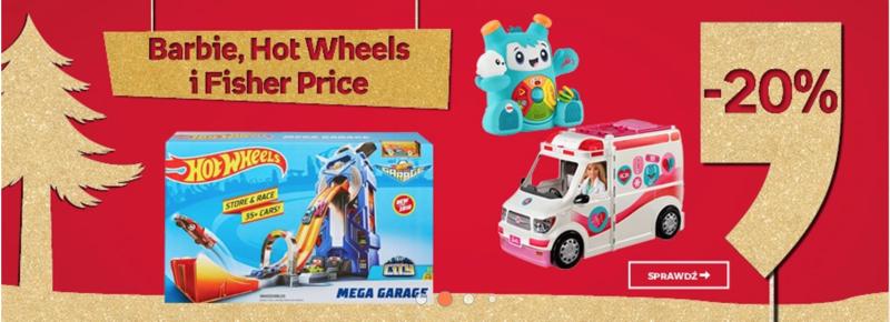 Empik 20 Znizki Na Zabawki Barbie Hot Wheels I Fisher Price
