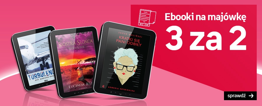 Empik: 3 ebooki w cenie 2                         title=