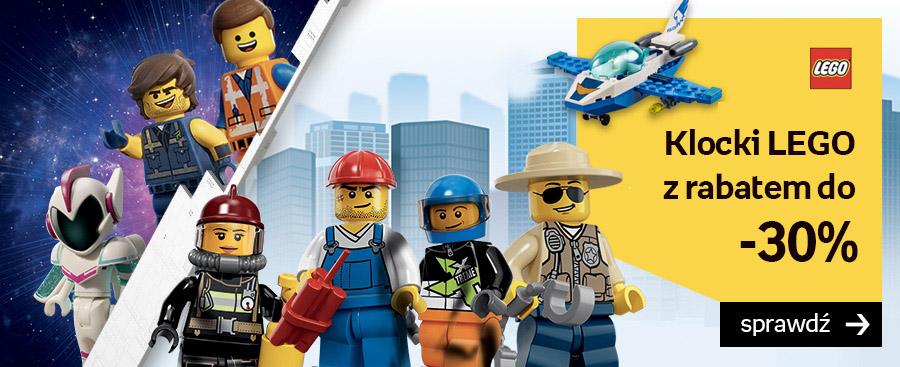 Empik: do 30% zniżki na klocki Lego