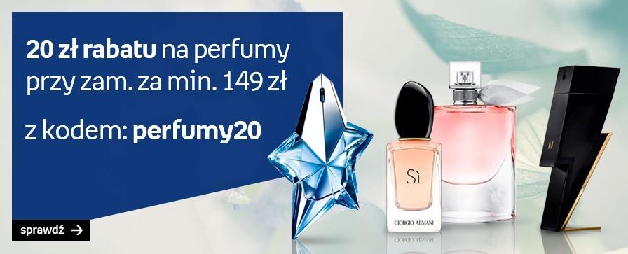 Empik: 20 zł zniżki na perfumy