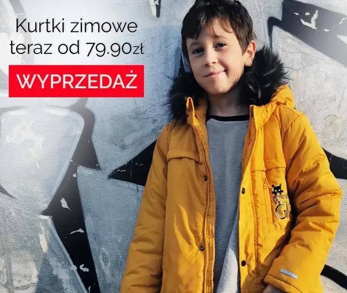 Endo: kurtki zimowe dla dzieci od 79,99 zł