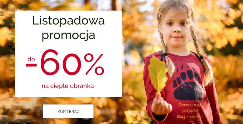 Endo Endo: do 60% rabatu na ciepłe ubranka dziecięce