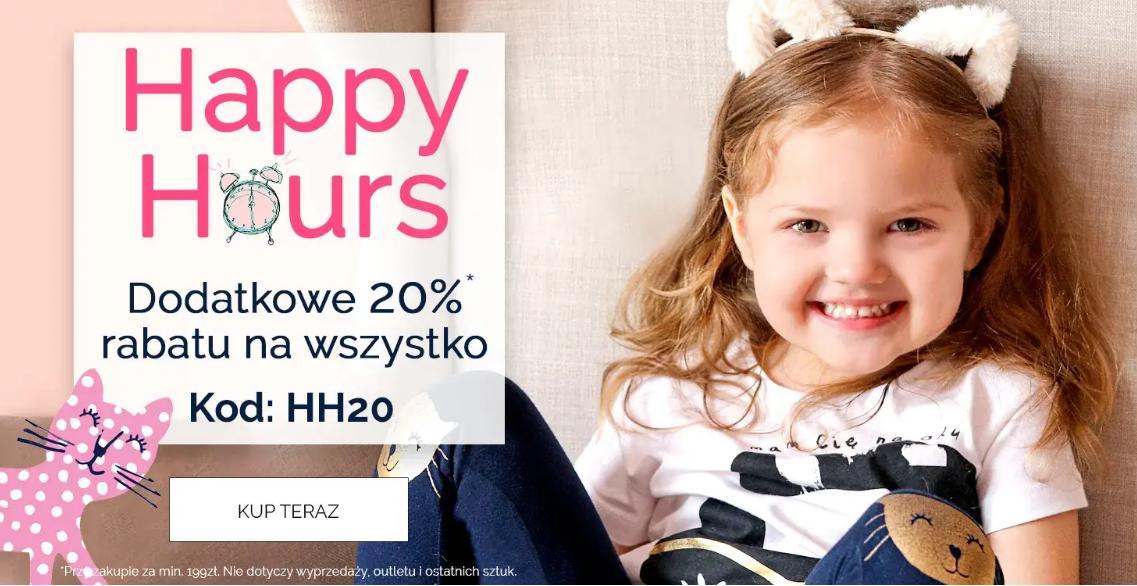 Endo: dodatkowe 20% rabatu na cały asortyment odzieży dla dzieci przy zakupach za min. 199 zł