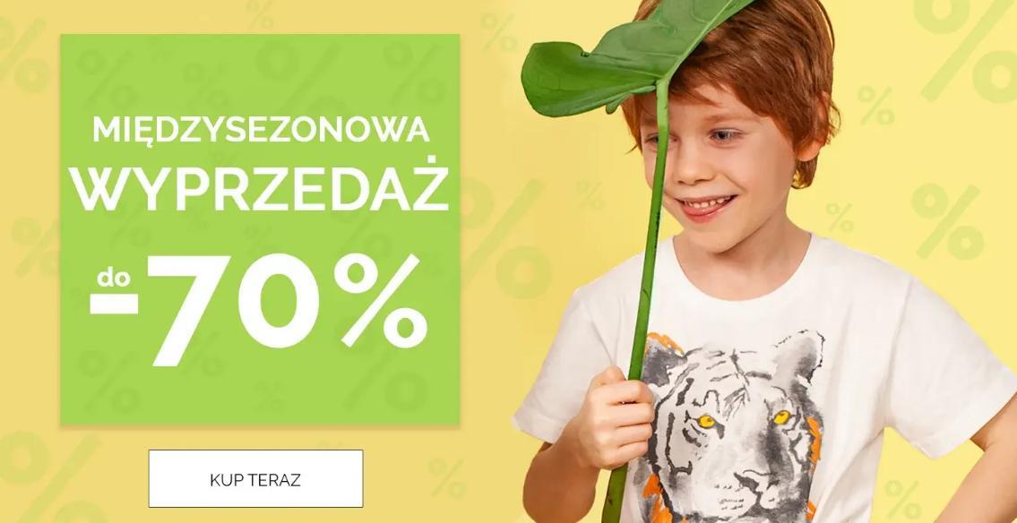Endo: wyprzedaż do 70% zniżki na odzież i obuwie dla dzieci