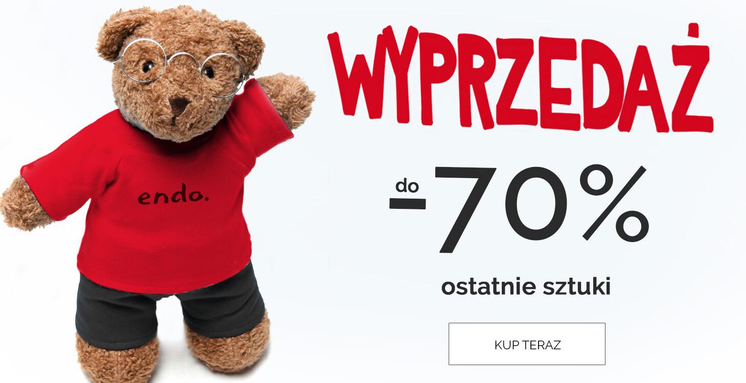 Endo: wyprzedaż do 70% rabatu na ubranka dla dzieci                         title=