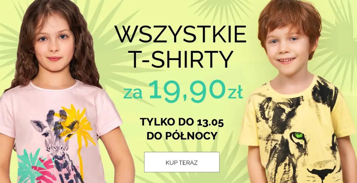 Endo Endo: wszystkie t-shirty za 19,90 zł