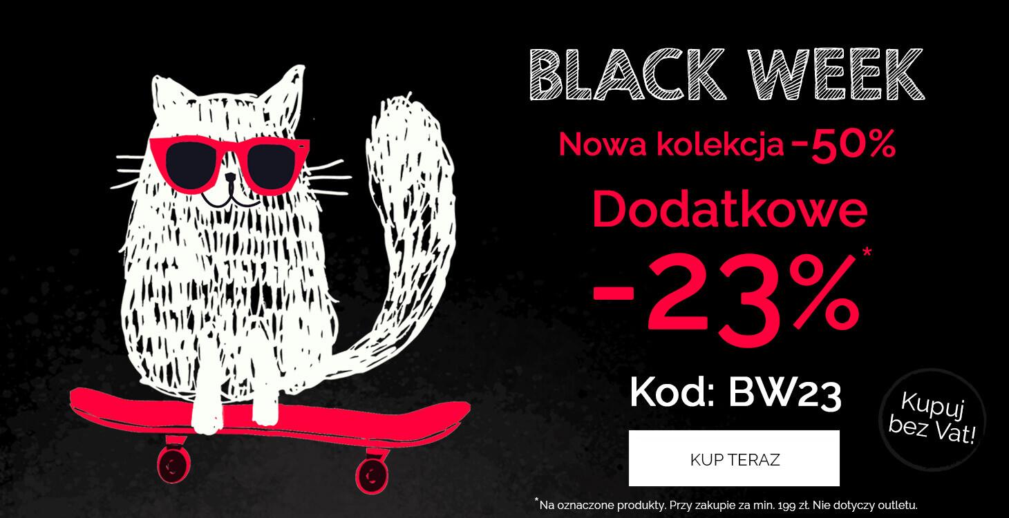 Endo: Black Week 50% na ubranka dziecięce z nowej kolekcji i dodatkowe 23% zniżki na oznaczone produkty