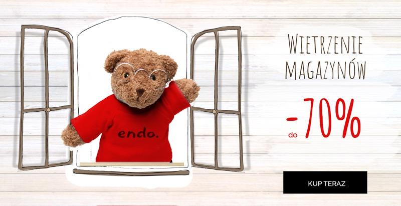 Endo: do 70% zniżki na ubranka dziecięce                         title=