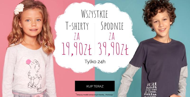Endo: wszystkie t-shirty za 19,90 zł oraz spodnie za 39,90 zł                         title=