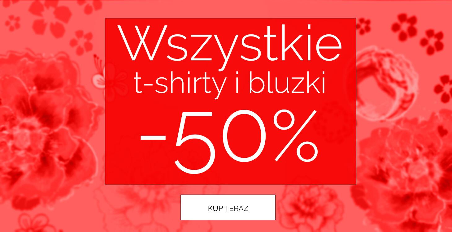 Endo: 50% zniżki na wszystkie t-shirty i bluzki dziecięce                         title=