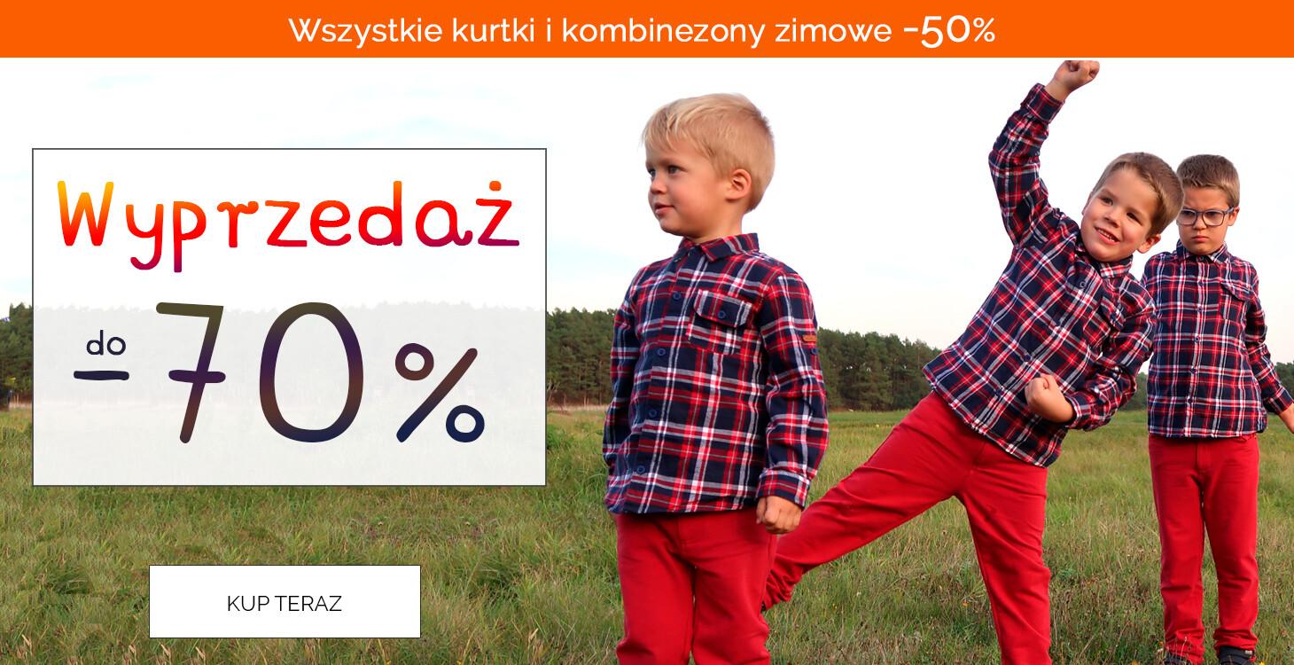 Endo: wyprzedaż do 70% rabatu na ubranka dla dzieci