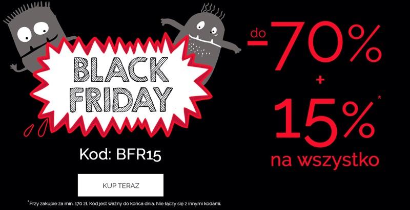 Endo: Black Friday do 70% + 15 % rabatu na ubranka dla dzieci                         title=