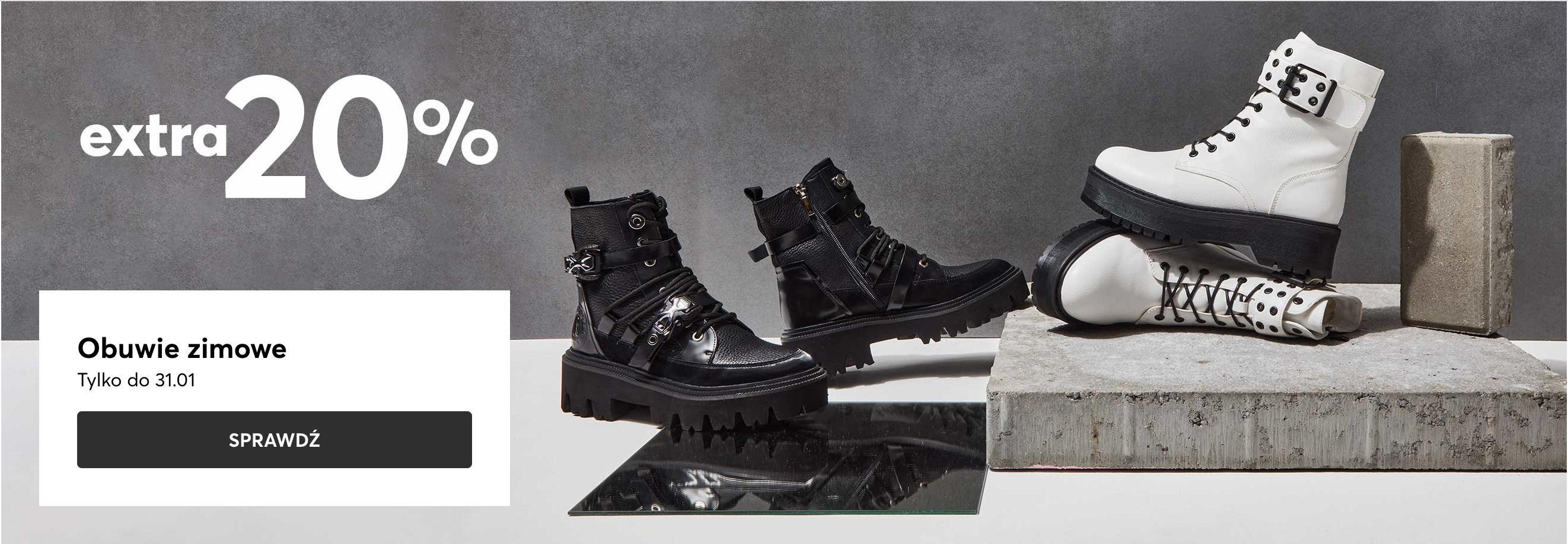Eobuwie: extra 20% zniżki na obuwie zimowe