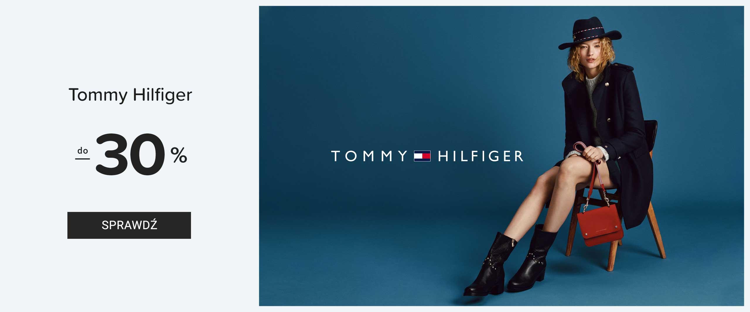 d2b3b5fc3cbec Eobuwie  do 30% zniżki na obuwie marki Tommy Hilfiger