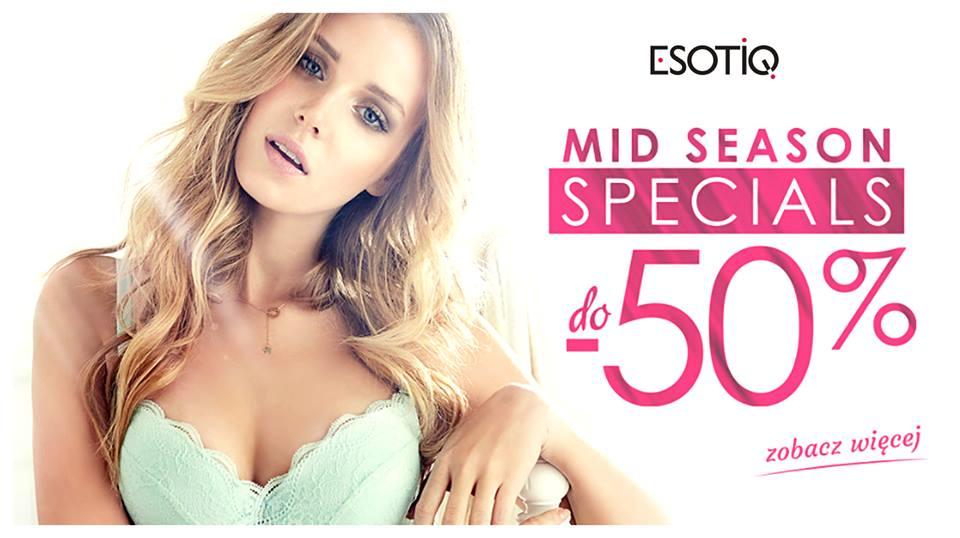 Esotiq: wyprzedaż międzysezonowa do 50% zniżki