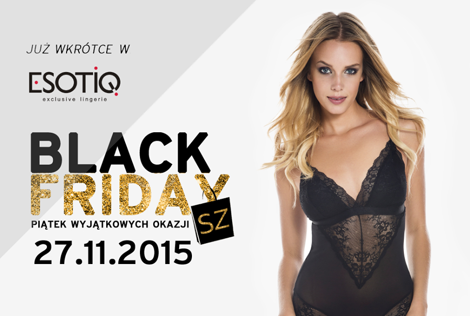Black Friday w Esotiq: 40% na całą kolekcję