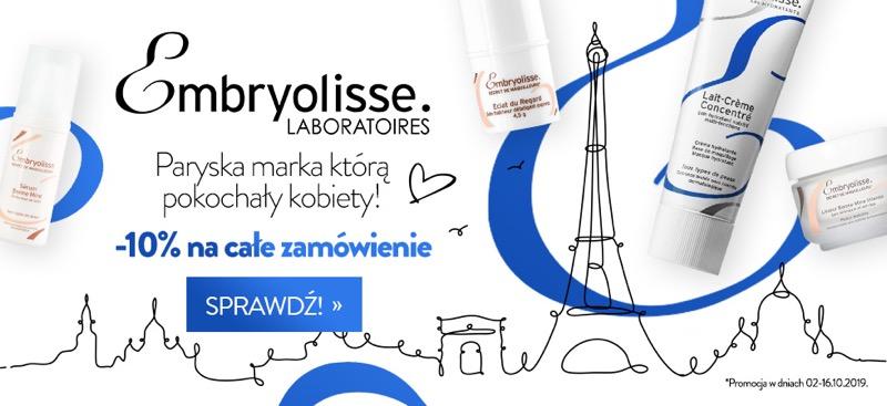 Estyl: 10% rabatu na kosmetyki marki Embryolisse