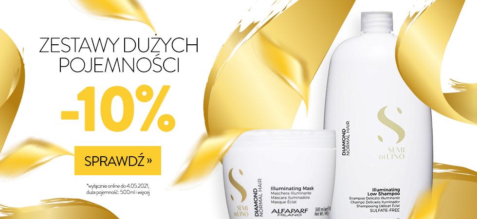 Estyl: 10% rabatu na zestawy kosmetyków o dużych pojemnościach (500 ml i więcej)